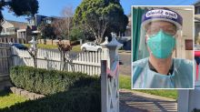 Neighbour's kind act for Melbourne doctor during lockdown