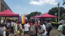 Mauritius defiantly celebrates Pride with a kaleidoscopic march and calls for an end to its colonial-era gay sex ban
