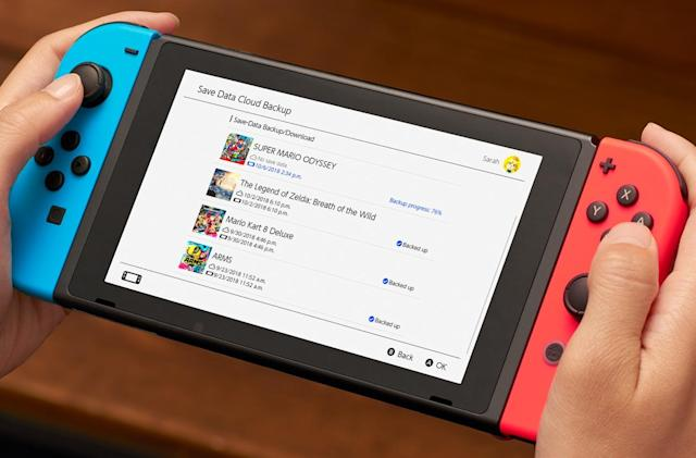 Nintendo Switch Online lands today, complete with strange cloud saves