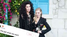 This photo of Cher and Amanda Seyfried has got fans begging for a live-action 'Tangled'