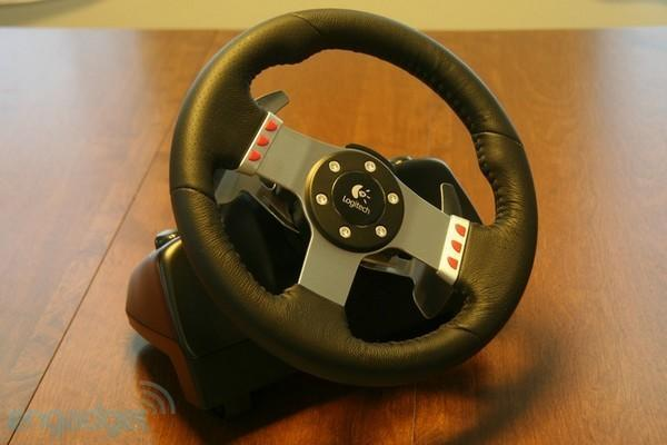 Logitech G27 racing wheel impressions