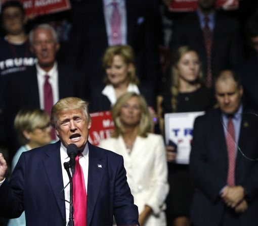 The Latest: Trump meets with participants in GOP program