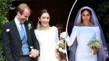 Royal bride wears strikingly similar dress to Meghan Markle