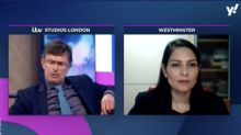 Priti Patel praised for response to 'gotcha' question about sexist Boris Johnson comment