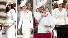 Kate's worn her wedding outfit three times before