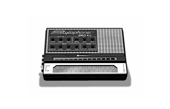 The Stylophone Gen X-1 toy synth is an updated version of a classic