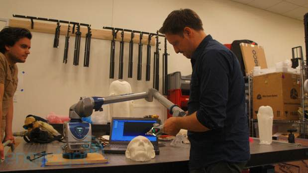 3D scanning with the Smithsonian's laser cowboys (video)