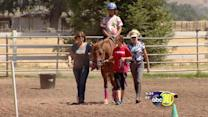 Special needs kids ride horses