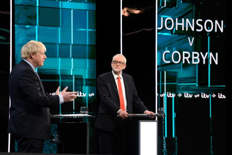 In testy leadership debate, PM Johnson promises speedy Brexit