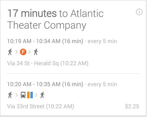 Google Now updated with car rentals, concert tickets and more