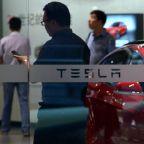 Tesla investigating apparent explosion of parked car in Shanghai