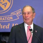 Michael Bloomberg makes first speech in NYC since announcing presidential bid