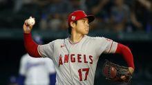 Shohei Ohtani, Angels hold down Rangers