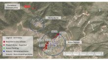 New Discovery Hole - 95.7 metres of 1.47 g/t gold equivalent at the Santana Project, Sonora, Mexico