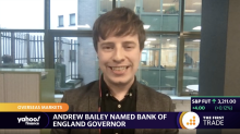 Andrew Bailey named Bank of England governor