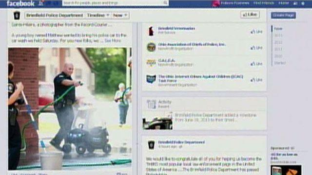 Police department's Facebook page laughs at crooks
