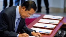 Cambodian PM Hun Sen voted in by one-party parliament