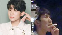 Roy Wang apologises for smoking in public venue