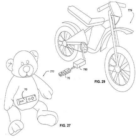 Nintendo files Wii accessory patent for everything, includes the kitchen sink