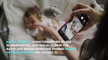Mum faces backlash over daughter's birthday photoshoot