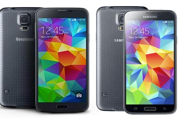 Goophone took just two days to rip off the Galaxy S5