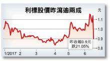 利標遭降級削目標價