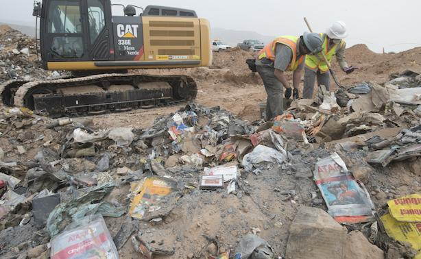 Excavated ET cartridges will be sold, distributed to museums