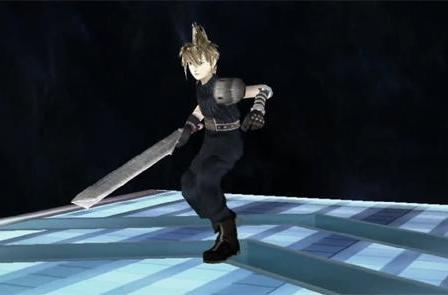 Cloud Strife hacked (and slashed) into Smash Bros. Brawl
