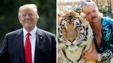 Donald Trump will 'take a look' at pardoning Tiger King's Joe Exotic