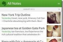Evernote releases native app for BlackBerry 10