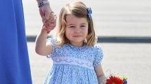 Princess Charlotte melts hearts with her first curtsy
