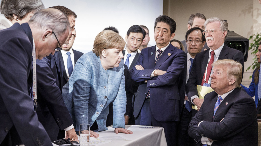 Trump walks into 'nightmare' G7, experts say