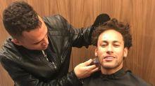 Neymar vira piada com penteado e cabeleireiro explica novo visual do jogador
