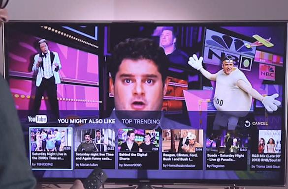 Slingbox now suggests YouTube videos based on what you're watching