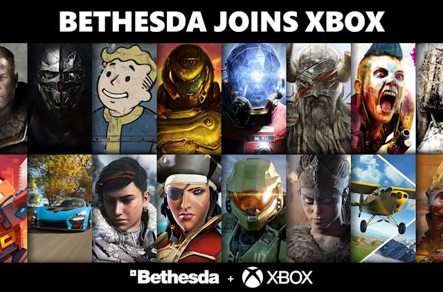 Bethesda is now officially part of Xbox