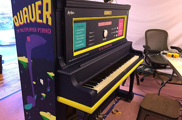 Raspberry Pi transforms upright piano into a retro loop player