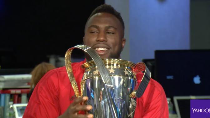 MLS champion Altidore talks social media