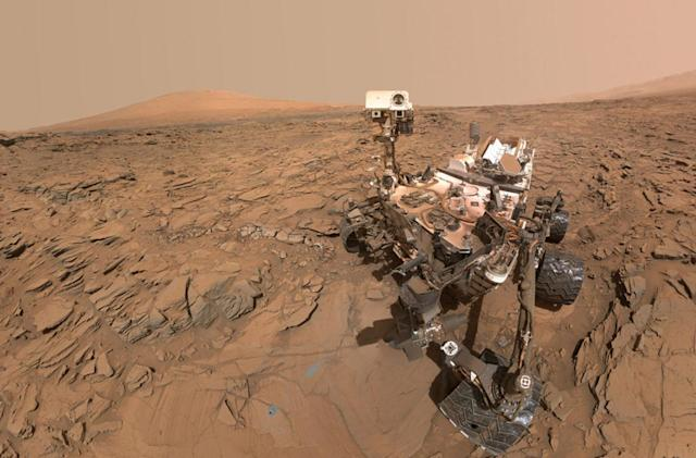 NASA celebrates Curiosity's fourth year on Mars with a game