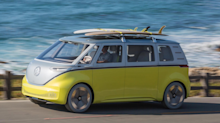 The Volkswagen Microbus is officially coming back and it'll be electric