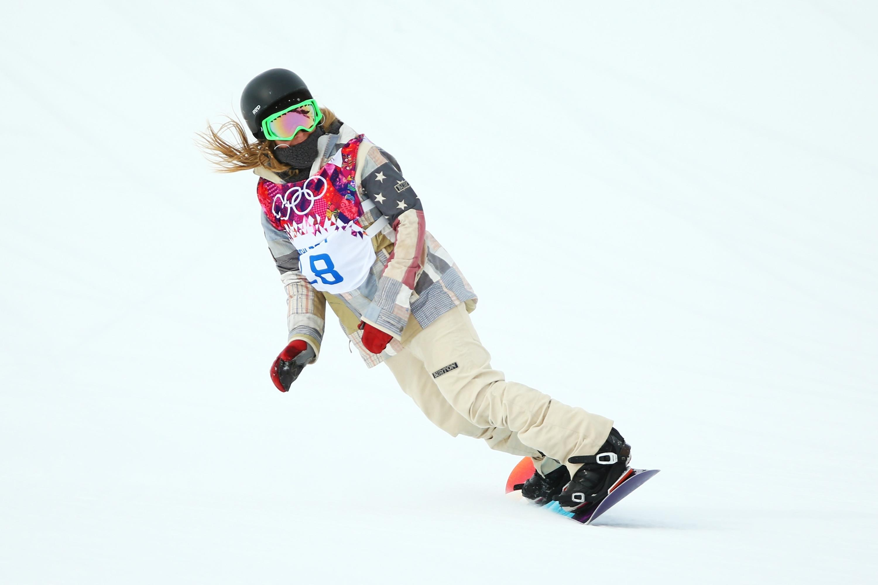 Jamie Anderson gives U.S. sweep of slopestyle gold medals ...