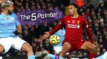 The Five Pointer: Penalty controversy hands Liverpool advantage, KSI v Logan Paul, Lamar Jackson stars