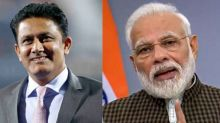 Anil Kumble Feels 'Honoured' After PM Modi Used his Broken Jaw as Example to Inspire Students
