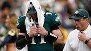 Wentz's magical season derailed by torn ACL