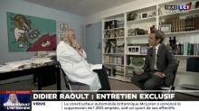 Didier Raoult face à David Pujadas : Ses punchlines amusent les internautes