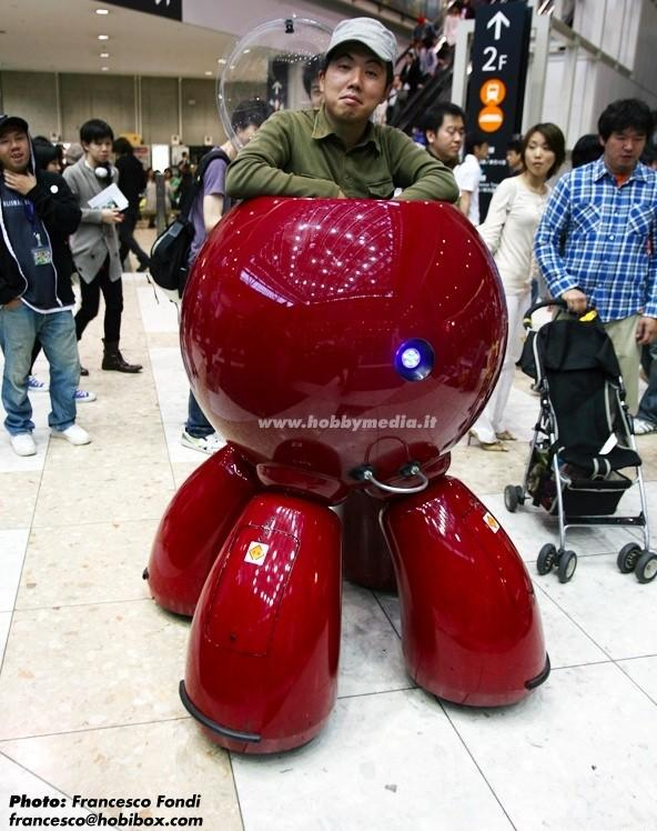 Life-sized Tachikoma loose on the streets of Tokyo (update: video!)