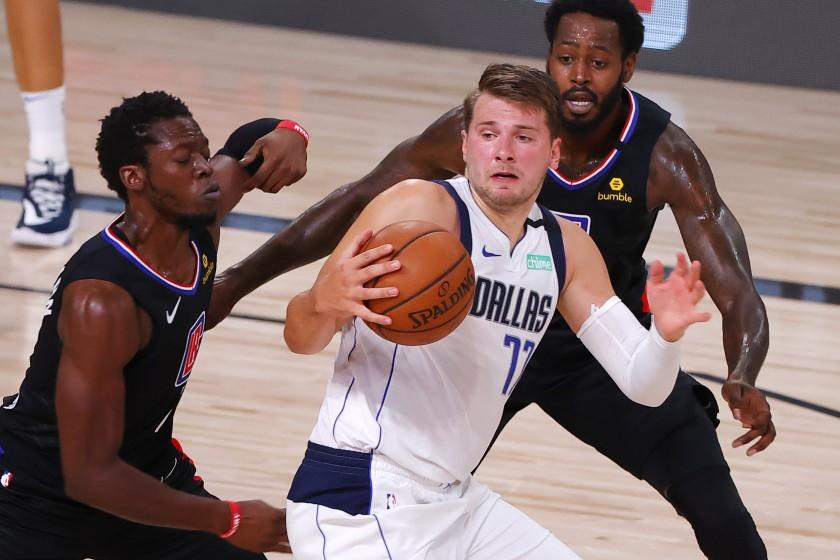 Luka Doncic is roughed up by Clippers, but his game is smooth