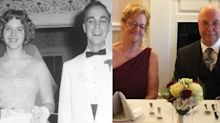 High school sweethearts marry 57 years later: 'We never imagined this in a million years'