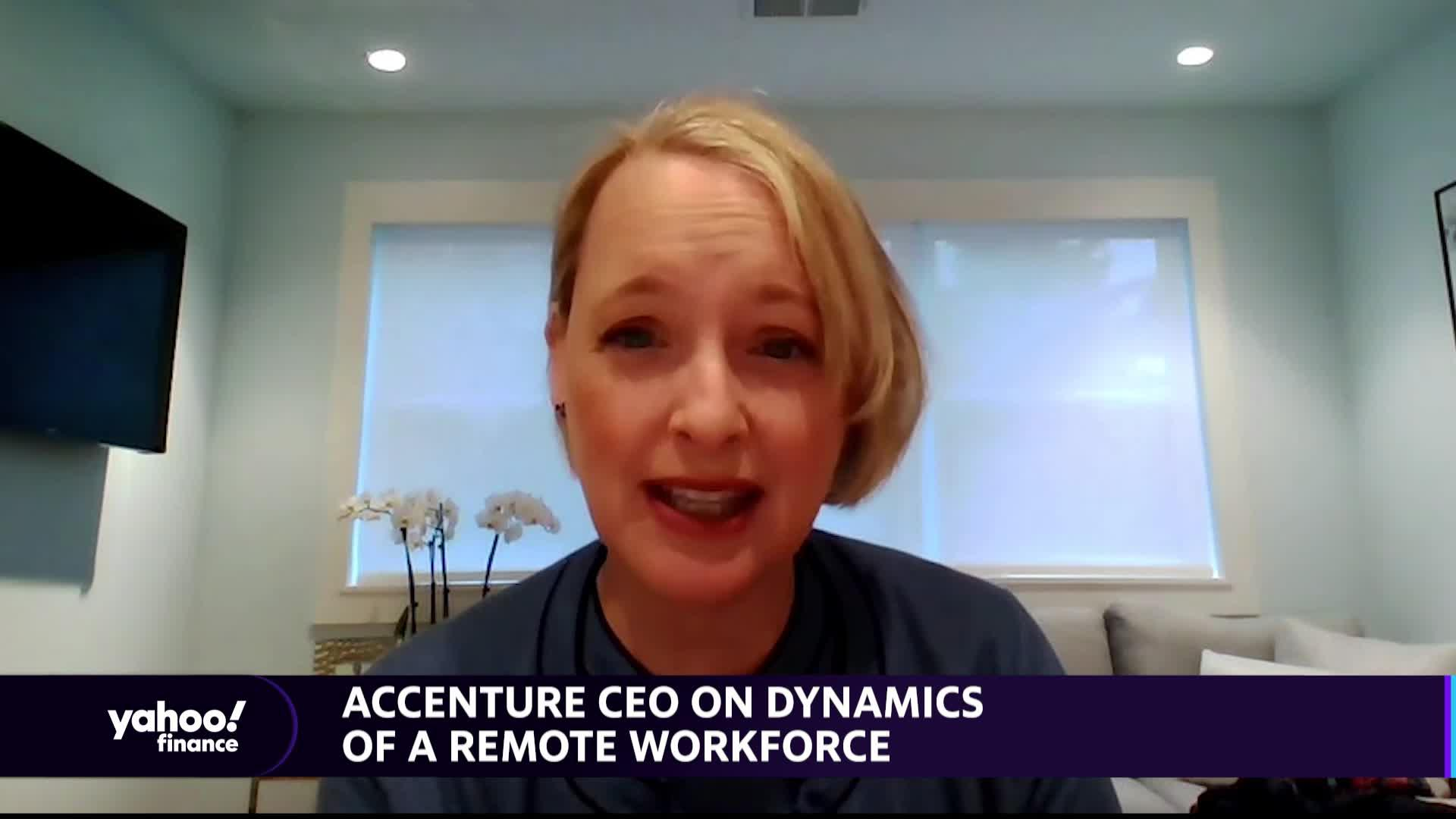 News post image: Accenture CEO on the Changing Dynamics Of Working From Home