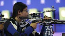 10公尺空氣步槍 林穎欣排名26完賽