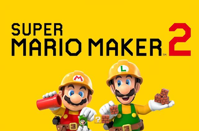 'Super Mario Maker 2' hits the Switch this June